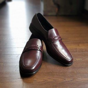 Mens Brown Oxfords Size 12